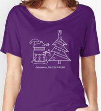 A Very Dalek Christmas - Dark Women's Relaxed Fit T-Shirt