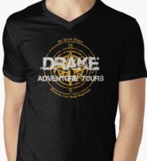 Drake Adventure Tours Men's V-Neck T-Shirt