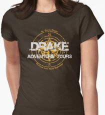 Drake Adventure Tours Women's Fitted T-Shirt