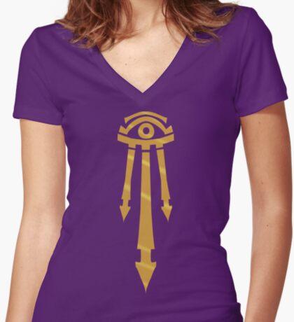 Mark of the Kirin Tor Women's Fitted V-Neck T-Shirt