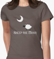 Sheep the Moon Women's Fitted T-Shirt