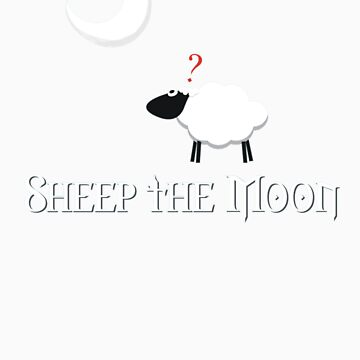 Sheep the Moon by NevermoreShirts