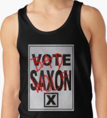 Bad Saxon Poster Tank Top