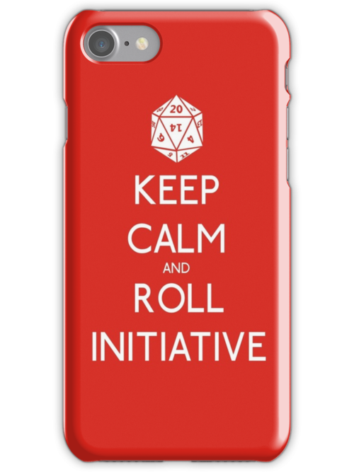 Keep Calm and Roll Initiative by NevermoreShirts