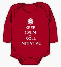 Keep Calm and Roll Initiative One Piece - Long Sleeve