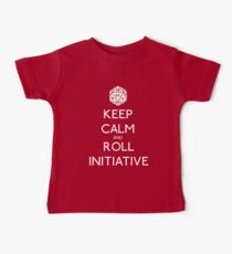 Keep Calm and Roll Initiative Baby Tee