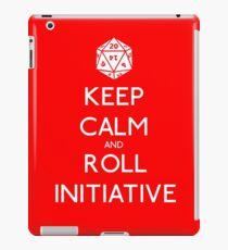 Keep Calm and Roll Initiative iPad Case/Skin