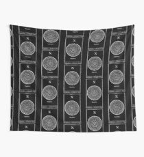 Wheel of Fortune Tarot X Wall Tapestry