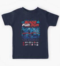 Blade Fun-Run for Displaced Replicants Kids Tee