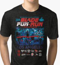 Blade Fun-Run for Displaced Replicants Tri-blend T-Shirt