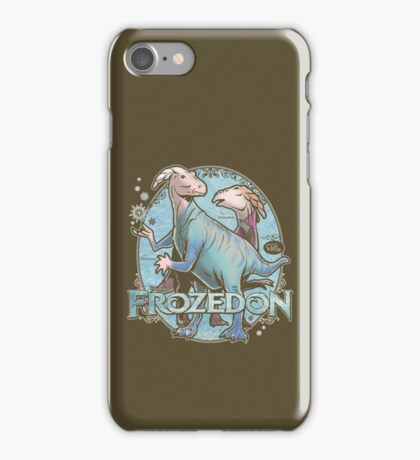 PREHISTORIC PRINCESS - Frozedon iPhone Case/Skin