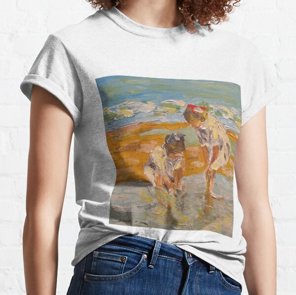 """Study of EH Potthast's """"In the Surf"""" Classic T-Shirt"""
