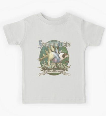 PREHISTORIC PRINCESS - StegosnoWhite & The Seven Velociraptors Kids Clothes
