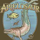 PREHISTORIC PRINCESS - The Little Arielosaur by Captain RibMan