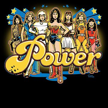 Women of 70s TV - POWER! by RibMan