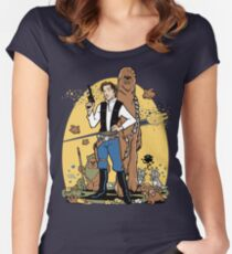 The Smuggler Women's Fitted Scoop T-Shirt