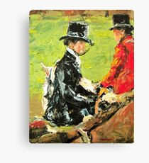 The Foxhunt Canvas Print