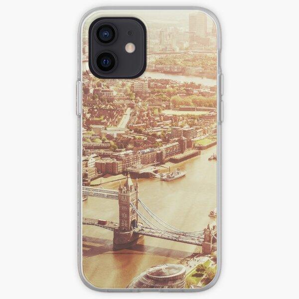 tower bridge aerial iPhone Soft Case