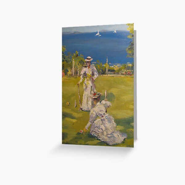 Croquet Party Greeting Card