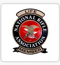 NRA Life Member Sticker