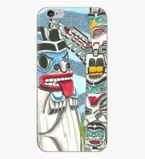 Totem Talk iPhone Case