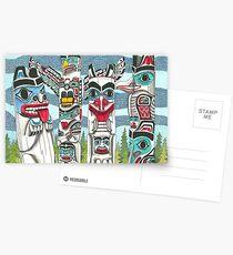 Totem Talk Postcards