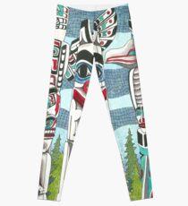 Totem Talk Leggings
