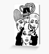 Queens (3) Greeting Card