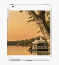 Relaxing on the river iPad Case/Skin