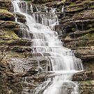 Stewart Falls in Cascadilla Gorge by Kenneth Keifer
