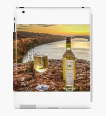 Cliff top wine iPad Case/Skin