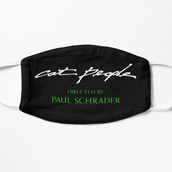 Paul Schrader credit (Cat People) Flat Mask