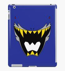 Dino Charge Talon Power Ranger / Kyoryu Navy / Deathryuger iPad Case/Skin
