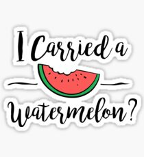 I carried a watermelon dirty dancing Sticker