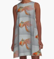 Goldfish Pond ( close up #9) A-Line Dress