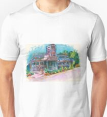 Cool Vintage/Retro Diner  Unisex T-Shirt