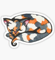 Calico Kitty Sticker