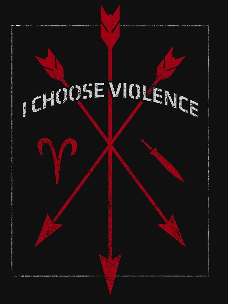 I Choose Violence by JuneFisher