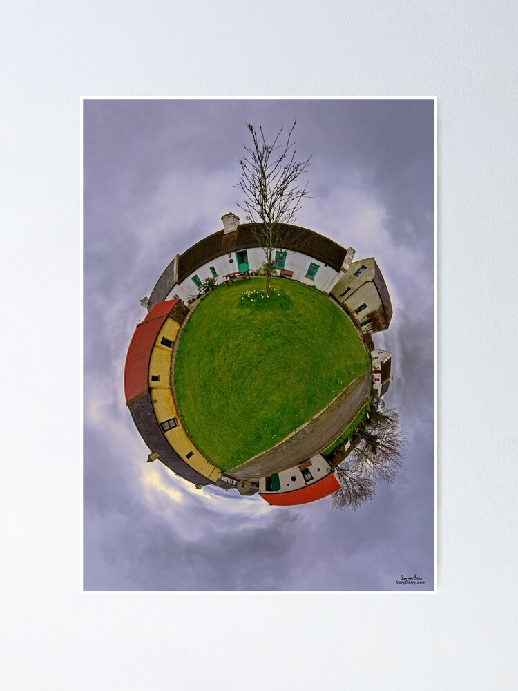 Alternate view of Hanna's Close, County Down (Sky Out) Poster