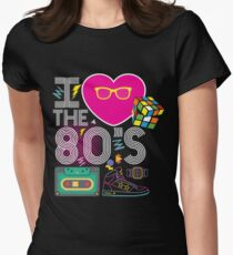 I Love 80's Graphic Tee for Women