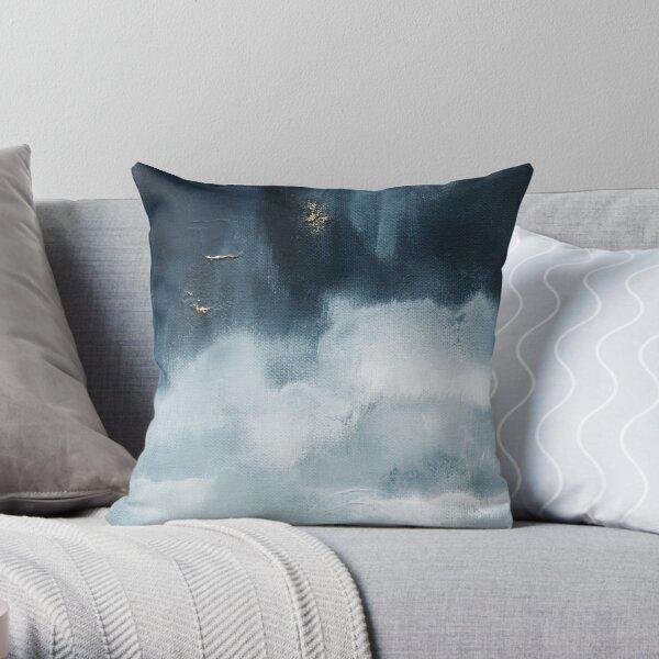 Rain Clouds Throw Pillow