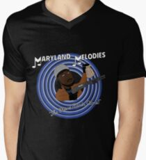 Maryland Melodies: The Cheese Stands Alone! Men's V-Neck T-Shirt