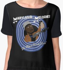 Maryland Melodies: The Cheese Stands Alone! Women's Chiffon Top