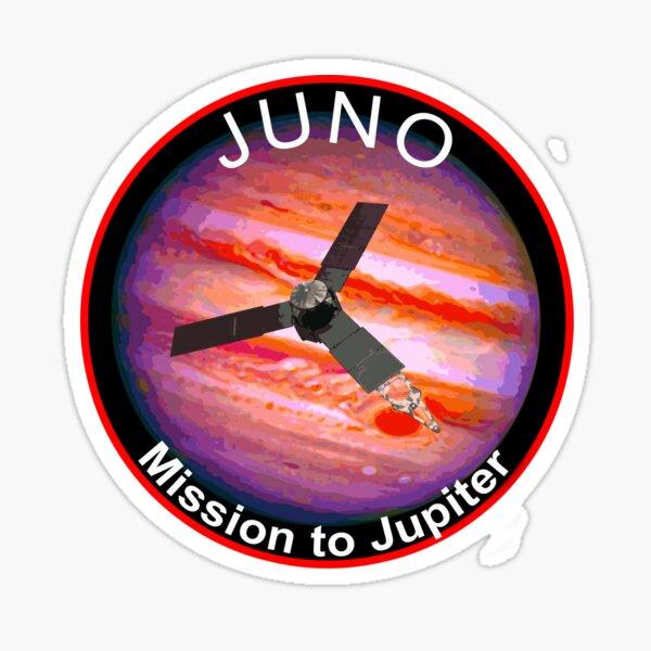JUNO NASA Mission to Jupiter Concept Patch Sticker