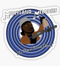 Maryland Melodies: The Cheese Stands Alone! Sticker