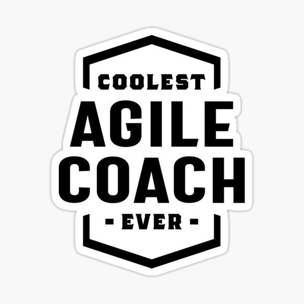 Agile Coach Occupation Job Title Sticker