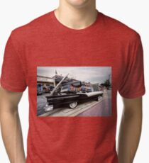 1957 Ford Fairlane Skyliner Retracted Tri-blend T-Shirt