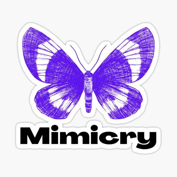Mimicry - Butterfly Sticker