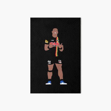 Brian To'o Penrith Panthers NRL 2 Art Board Print