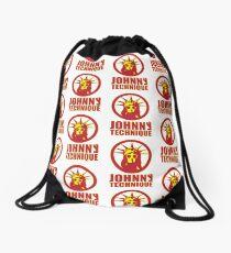 SHADED TEXT Drawstring Bag